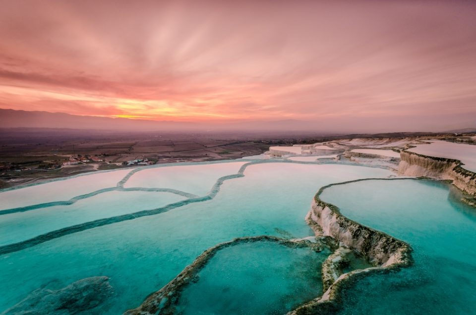 Pamukkale: A Completely White Paradise