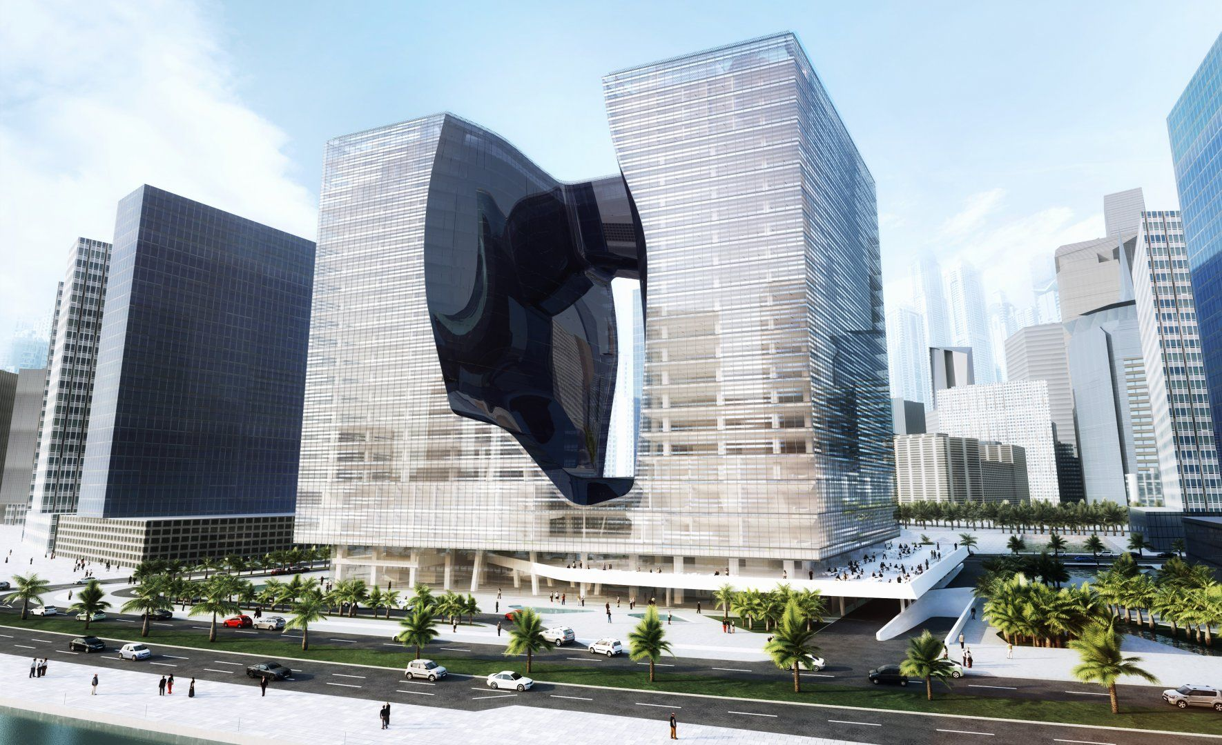 Zaha Hadid-Designed Hotel Set to Open in Dubai